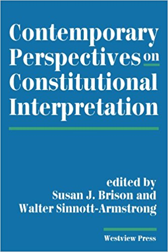 Contemporary Perspectives on Constitutional Interpretation Cover
